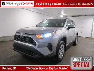 New 2020 Toyota RAV4 LE Save $500 for sale in Regina, SK
