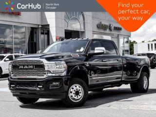 New 2020 RAM 3500 Limited 4x4 Crew Cab 8' Box Rear Auto Leveling Heat and Ventilated Seats 360 Camera for sale in Thornhill, ON