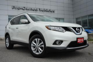 Used 2015 Nissan Rogue SV One owner accident free trade.Nissan certified preowned! for sale in Toronto, ON
