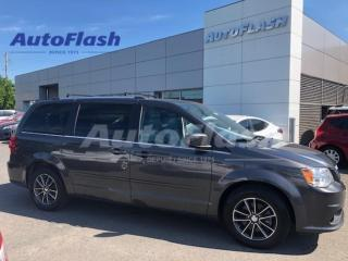 Used 2017 Dodge Grand Caravan SXT *A/C-3-Zone *DVD *GPS/Camera *1/2-Cuir/leather for sale in St-Hubert, QC