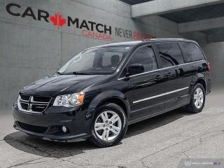 Used 2017 Dodge Grand Caravan Crew Plus / LEATHER / 91788KM for sale in Cambridge, ON
