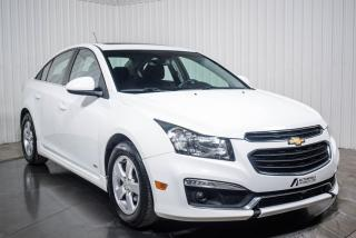 Used 2015 Chevrolet Cruze LT A/C MAGS TOIT for sale in St-Hubert, QC
