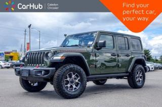 New 2020 Jeep Wrangler Unlimited New Rubicon 4x4 Dual Top Navigation Adaptive Cruise Control Leather Remote Start 17