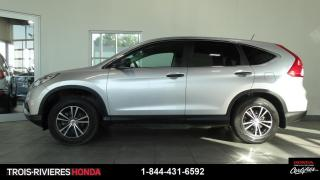 Used 2015 Honda CR-V LX + AWD + MAGS + CAMÉRA DE RECUL ! for sale in Trois-Rivières, QC