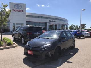 Used 2017 Toyota Corolla XSE - PUSH BUTTON START - POWER MOONROOF for sale in Stouffville, ON