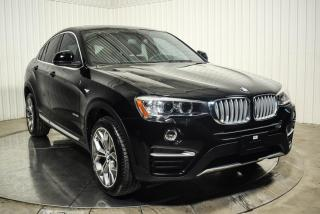 Used 2016 BMW X4 A/C CUIR MAGS BLUETOOTH NAVIGATION for sale in St-Hubert, QC