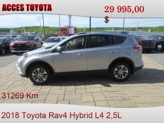 Used 2018 Toyota RAV4 Hybrid AWD LE+ for sale in Rouyn-Noranda, QC