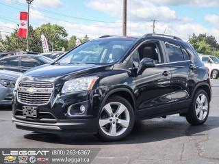Used 2013 Chevrolet Trax LTZ Turbo engine! | Touch screen! for sale in Burlington, ON