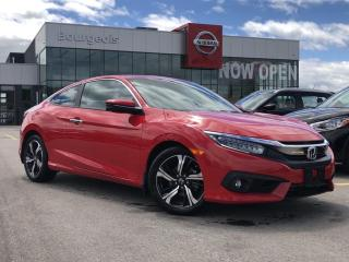 Used 2016 Honda Civic Touring LEATHER, NAVIGATION, SUNROOF for sale in Midland, ON
