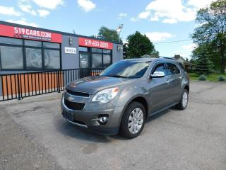 Used 2011 Chevrolet Equinox 2L|LEATHER|SUNROOF|BLUETOOTH|BACKUP CAMERA for sale in St. Thomas, ON