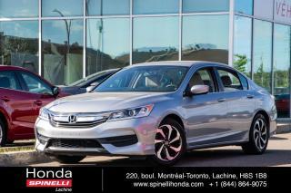 Used 2017 Honda Accord LX AUTO SEDAN MAGS AC*AUTO*CAMERA*BLUETOOTH*SIEGES CHAUFFANTS*++ for sale in Lachine, QC