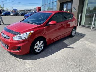 Used 2016 Hyundai Accent Voiture à hayon, 5 portes, boîte automat for sale in Alma, QC