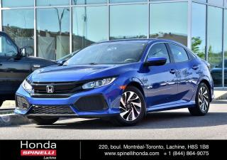 Used 2017 Honda Civic DEAL PENDING LX AUTO BAS KM 1.5TURBO MAGS BLUETOOTH CAM RECUL++ for sale in Lachine, QC