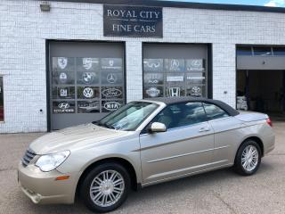 Used 2008 Chrysler Sebring Touring Convertible Certified for sale in Guelph, ON