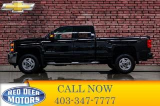 Used 2018 Chevrolet Silverado 2500 HD 4x4 Double Cab LT BCam for sale in Red Deer, AB