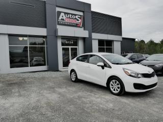 Used 2014 Kia Rio Vendu, sold merci for sale in Sherbrooke, QC