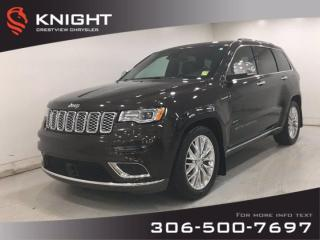 Used 2017 Jeep Grand Cherokee Summit V8 | Leather | Sunroof | Navigation | for sale in Regina, SK