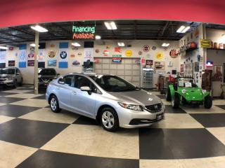 Used 2015 Honda Civic Sedan LX AUT0 A/C H/SEATS BACKUP CAMERA BLUETOOTH for sale in North York, ON