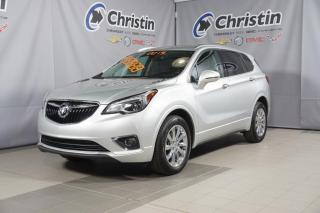 Used 2019 Buick Envision AWD CUIR SUNROOF PANORAMIQUE HAYON ELECTRIQUE for sale in Montréal, QC