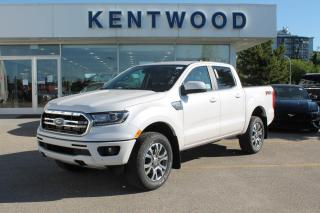 New 2020 Ford Ranger LARIAT 500A | 2.3L EcoBoost | Heated Leather Seats | Rear View Camera | Blind Spot Monitors | FX4 Off-Road Pkg | Trailer Tow Package | for sale in Edmonton, AB