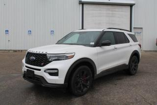 New 2020 Ford Explorer ST 400A | 3.0L EcoBoost | Twin Panel Moonroof | Tech PKG | ST Street PKG | for sale in Edmonton, AB