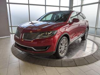 Used 2017 Lincoln MKX Reserve for sale in Edmonton, AB
