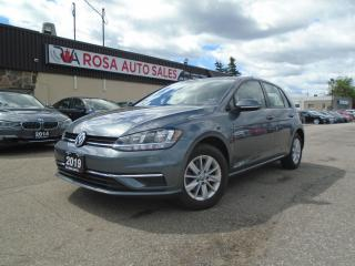 Used 2019 Volkswagen Golf Comfortline 5-door Auto NO ACCIDENT FACTORY WARRAN for sale in Oakville, ON