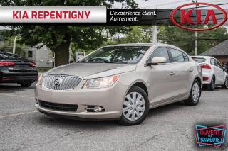 Used 2010 Buick LaCrosse 4dr Sdn CXL CUIR - BAS KM !!! - EXCEPTIONNEL for sale in Repentigny, QC