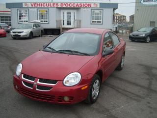 Used 2005 Dodge Neon SX2.0 for sale in Saint-jean-sur-richelieu, QC