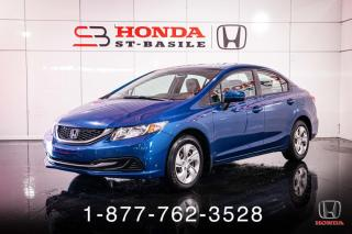 Used 2015 Honda Civic LX + AUTO + A/C + CRUISE + WOW! for sale in St-Basile-le-Grand, QC