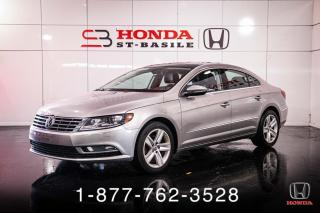 Used 2016 Volkswagen Passat CC SPORTLINE + 2.0T + CUIR + TOIT + WOW! for sale in St-Basile-le-Grand, QC