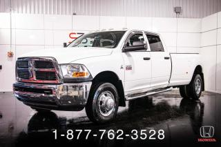 Used 2011 RAM 3500 ST + CUMMINS + DOUBLE-ROUE + WOW! for sale in St-Basile-le-Grand, QC