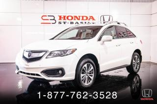 Used 2016 Acura RDX ELITE + AWD + NAVI + TOIT + WOW! for sale in St-Basile-le-Grand, QC