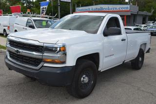 Used 2016 Chevrolet Silverado 1500 4X4 8 foot box for sale in Richmond Hill, ON