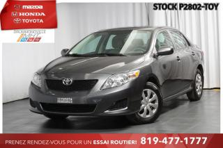 Used 2010 Toyota Corolla CLIMATISATION| BAS KILO| 1 PROPRIÉTAIRE for sale in Drummondville, QC