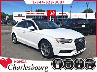 Used 2016 Audi A3 2.0T Komfort Quattro **TOIT PANORAMIQUE* for sale in Charlesbourg, QC