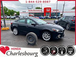 Used 2016 Mazda MAZDA3 GT AUTOMATIQUE**TOIT OUVRANT+CUIR+BOSE** for sale in Charlesbourg, QC