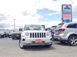 Used 2010 Jeep Patriot North AUTO NO ACCIDENTS CARFAX CLEAN for sale in Brampton, ON