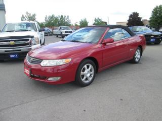 Used 2002 Toyota Camry Solara SLE for sale in Hamilton, ON