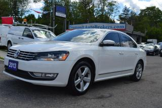 Used 2013 Volkswagen Passat COMFORTLINE for sale in Richmond Hill, ON