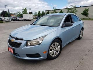 Used 2012 Chevrolet Cruze Only 86000 km, Auto, A/C, 3/Y warranty available. for sale in Toronto, ON
