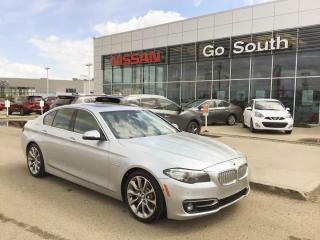 Used 2014 BMW 5 Series 535iXDRIVE, LEATHER, AWD, NAVIGATION for sale in Edmonton, AB