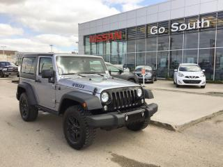 Used 2018 Jeep Wrangler JK SPORT, 4X4, 2 DOOR, HARDTOP for sale in Edmonton, AB