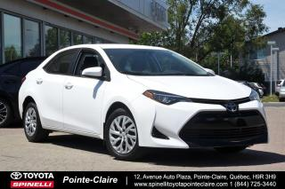 Used 2017 Toyota Corolla ***RÉSERVÉ***LE PKG for sale in Pointe-Claire, QC