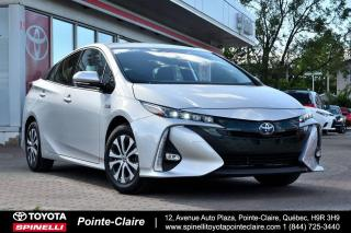 Used 2020 Toyota Prius Prime ***RÉSERVÉ***TECHNOLOGY for sale in Pointe-Claire, QC