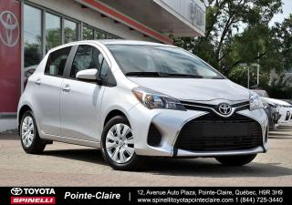 Used 2017 Toyota Yaris LE for sale in Pointe-Claire, QC