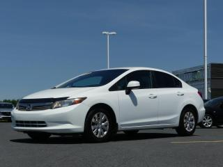 Used 2012 Honda Civic AUTOMATIQUE, AIR CLIMATISEE, ULTRA FIABL for sale in St-Georges, QC