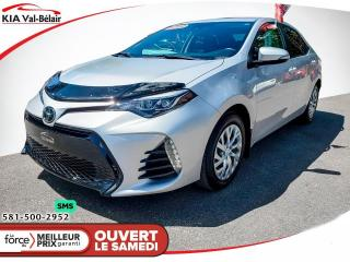 Used 2019 Toyota Corolla *SE*CAMÉRA*AIR*CRUISE* for sale in Québec, QC