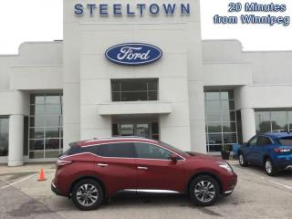 Used 2015 Nissan Murano SL AWD for sale in Selkirk, MB