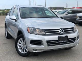 Used 2014 Volkswagen Touareg Sport Leather Roof Cam for sale in Oakville, ON